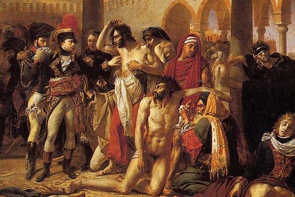 Bonaparte visitant les pestiférés