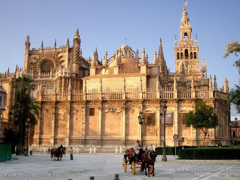 Seville for Exterior catedral de sevilla
