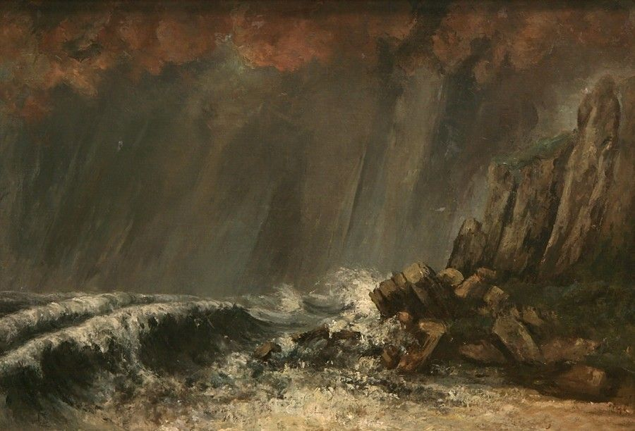 les impressionnistes gustave courbet